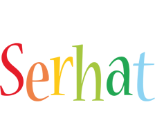 Serhat birthday logo