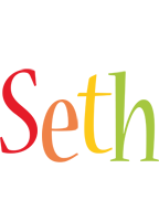Seth birthday logo