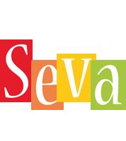 Seva colors logo