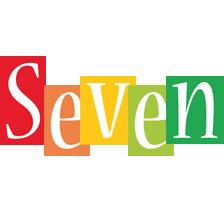 Seven colors logo