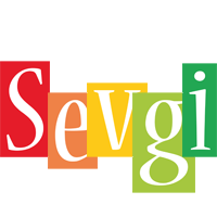 Sevgi colors logo