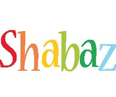 Shabaz birthday logo
