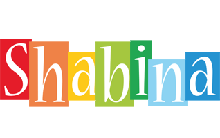 Shabina colors logo