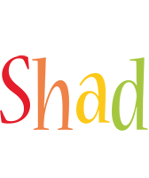Shad birthday logo