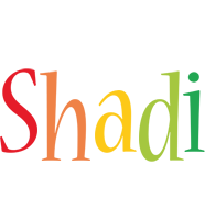 Shadi birthday logo
