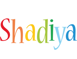 Shadiya birthday logo