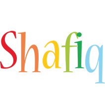 Shafiq birthday logo
