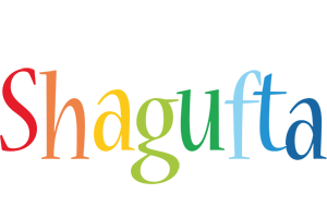 Shagufta birthday logo
