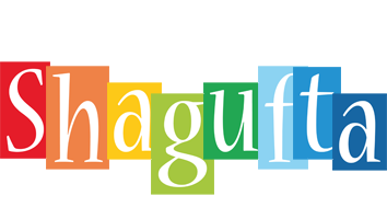 Shagufta colors logo