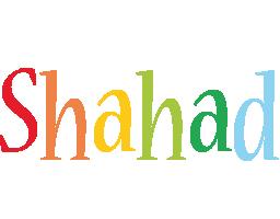 Shahad birthday logo