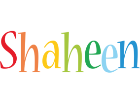 Shaheen birthday logo
