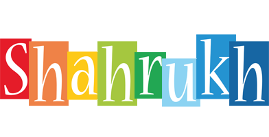 Shahrukh colors logo