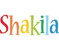 Shakila birthday logo