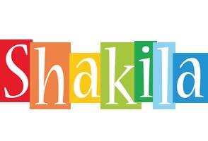 Shakila colors logo