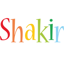 Shakir birthday logo