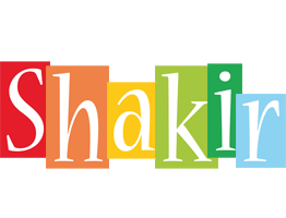 Shakir colors logo