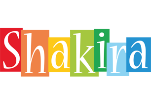 Shakira colors logo