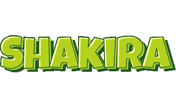 Shakira summer logo