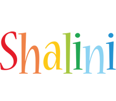 Shalini birthday logo