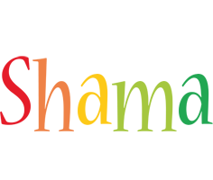 Shama birthday logo