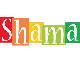 Shama colors logo