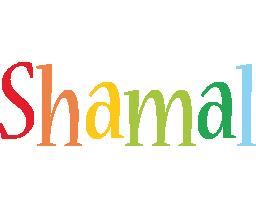 Shamal birthday logo