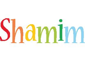 Shamim birthday logo