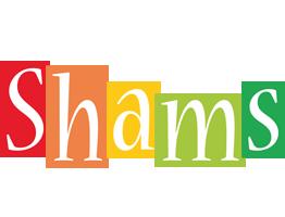 Shams colors logo