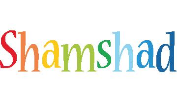Shamshad birthday logo