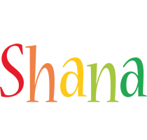 Shana birthday logo