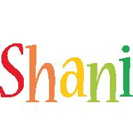 Shani birthday logo