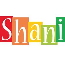 Shani colors logo
