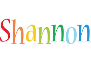 Shannon birthday logo