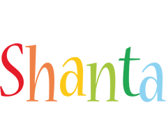 Shanta birthday logo