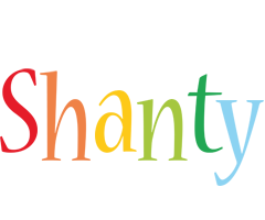 Shanty birthday logo