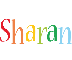 Sharan birthday logo