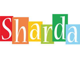 Sharda colors logo