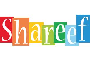 Shareef colors logo