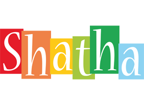 Shatha colors logo