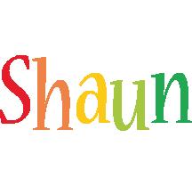 Shaun birthday logo