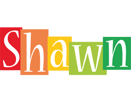 Shawn colors logo