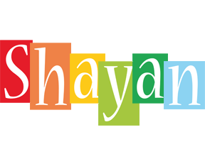 Shayan colors logo
