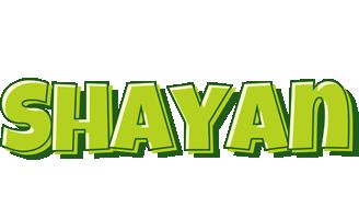 Shayan summer logo