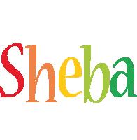 Sheba birthday logo