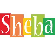 Sheba colors logo