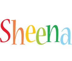 Sheena birthday logo