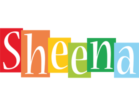 Sheena colors logo