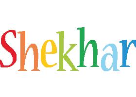 Shekhar birthday logo