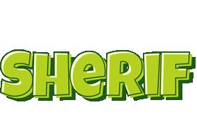 Sherif summer logo