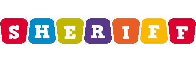 Sheriff kiddo logo